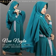 NEW NAYLA GAMIS SET BY MOUZA/TOSCA/SIZE XS-L/MUSLIMAH B Murah
