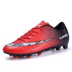 Cara Beli Baru Pola Man Lonjakan Football Sepatu Long Spike Sepak Bola Sepatu Nail Bernapas Football Sepatu Profesional Sepak Bola Pria Sneakers Intl