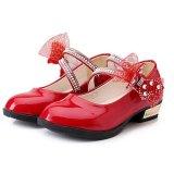 Toko Baru Putri Bunga Bayi Gadis Anak Anak Sandal Pertunjukan Tari Sepatu I100 Warna Merah Intl Di Tiongkok