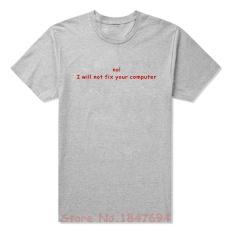 Baru Pemrogram Kode Hit Compile 1 Kesalahan Komputer T Shirt Pria Lucu Tshirt Pria Lengan Pendek Camisetas 002 (grey) -Intl