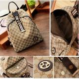 New Restock Qq810220 Bag Brown Ransel Tas Import Wanita Murah Indonesia