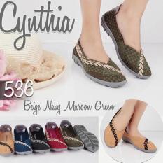Sepatu Rajut Flat Cynthia 536