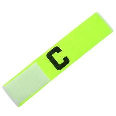Baru sepak bola basket disesuaikan lengan band neon Kapten ban lengan - International