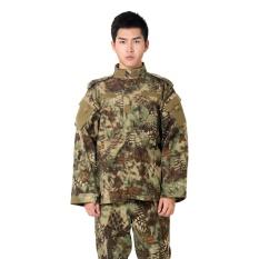 Ulasan Gaya Baru Army Seragam Militer Taktis Suit Peralatan Bdu Desert Kamuflase Combat Airsoft Cs Berburu Seragam Pakaian Set Jaket Celana Highland Intl