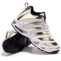Toko Gaya Baru Pria Breathable Basket Sepatu Emas Intl Lengkap