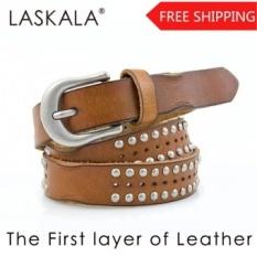 Gaya Baru Gaya Baru Fashion Unik Antik Belt Lapisan PERTAMA dari KULIT untuk Pria atau Wanita Grosir Juga-Intl