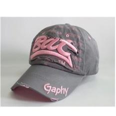 Gaya Baru Spring Tide Cap Kasual Topi Pria dan Wanita Model Umum Pasangan Topi CAPS (Grey) -Intl