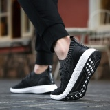 Baru Summer Breathable Liburan Antiskid Fashion Sneakers Tide Sepatu Hitam Intl Murah