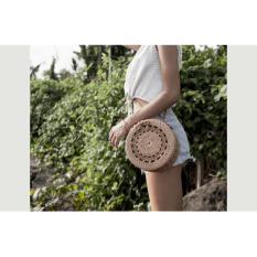 Toko New Tas Rotan Bali Bulat Cantik Raisa Rottan Tas Selempang Wanita Tas Selempang Rotan Tas Premium Terbaru Online