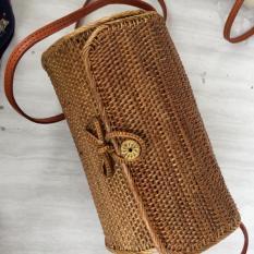 Jual New Tas Rotan Bali Kendang Rottan Tas Selempang Wanita Tas Selempang Rotan Tas Premium Terbaru Antik