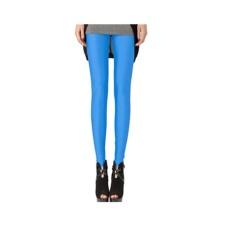 Harga Baru Mengencangkan Celana Ice Silk Sembilan Celana Korea Wanita Legging Pants Summer Sky Blue Intl Terbaru