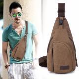 Beli New Travel Bag Cowok Cewek Backpack Kanvas A290 Green Fun Collection