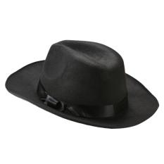 Spek Baru Jazz Gaya Unisex Vintage Peniup Trilby Gaya Topi Fedora Topi Topi Tiongkok