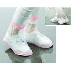 Baru Tahan Air Overshoes Sepatu Bot Hujan Penutup Sepatu Mantel Sepatu Untuk Sneakers-Intl By Y-Crown.