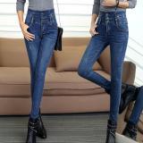 Toko Musim Dingin Baru Dengan Velvet Jeans Wanita Penebalan Lengan Besar Tinggi Pinggang Menumbuhkan Moralitas Seseorang Celana Celana Intl Online
