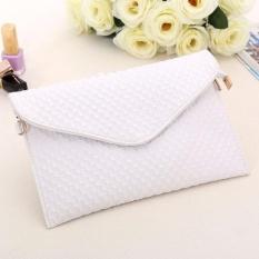 Harga Baru Tas Wanita Amplop Yang Dibungkus Bentuk Tas Wanita Shoulder Bag Putih Intl Xinhengli Terbaik