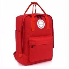 Diskon Kasual Wanita Baru Canvas Backpack Candy Color Waterproof Backpack Tas Sekolah Untuk Remaja Gadis Mode Intl Oem Tiongkok