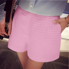 New Women Casual Fashion High Waist OL Mini Loose Shorts - intl