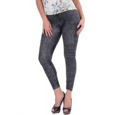 Rp 61.000. Baru Jeans Wanita Kurus Elastis Tipis Legging Celana Skinny Hitam IDR61000