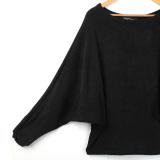 Harga Baru Lengan Baju Panjang Wanita Terlalu Gede Berwarna Mata Kuning Sweater On Longgar Jumper Pulover Pakaian Rajut Original
