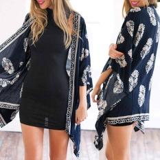 Diskon Baru Musim Panas Wanita Kimono Cardigan B*k*n* Cover Up Floral Beach Robe Kaftan Boho Blus Top Beachwear Intl Akhir Tahun