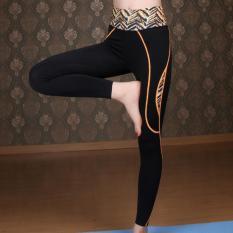 Harga Baru Latihan Yoga Wanita Celana Ketat Olahraga Lari Cepat Pengeringan Tinggi Setinggi Pinggang Elastis Wanita Celana Legging Wanita Pusat Pelangsing Di Tiongkok