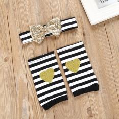 Beli Bayi Yang Baru Lahir Baby G*rl Baju Romper Leg Warmers Bow Headband 3 Pcs Pakaian Set Intl Not Specified Asli