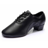 Promo Toko Terbaru Latin Men S Dance Sepatu Modis Modern Ballroom Tango Dance Shoes701 Hitam