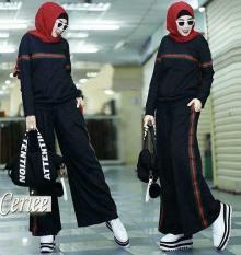 Toko Newone Shop Ceriee Set Celana Gamis Syari Fashion Muslim Muslim Wanita Murah Murah Indonesia