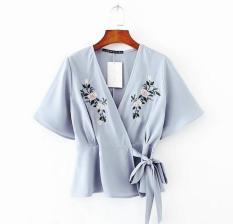 Newone shop kimono motif bunga / fashion wanita / baju murah wanita