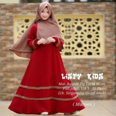 Newone shop Listy gamis syari anak wanita fashion muslim anak