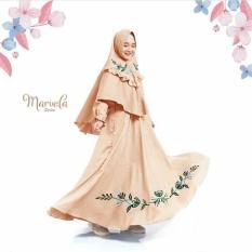 Newone Shop Marvela Gamis Syari Anak Wanita - Cream