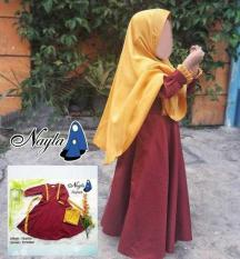 Toko Newone Shop Nayla Gamis Syari Kid Marun Online Di Indonesia