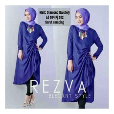 Newone shop Tunik rezva best seller gamis syari wanita fashion muslim