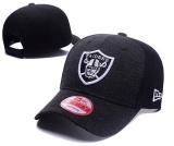 Cuci Gudang Nfl Fashion Caps Snapback Oakland Raiders Olahraga Sepak Bola Wanita Pria Hip Hop Adjustable Olahraga Hitam Intl