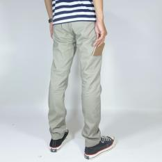 Katalog Nhs Celana Chino Pria Pocket Straight Fit Beige Nhs Wear Terbaru