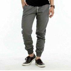 Toko Nhs Celana Jogger Unisex Grey Terlengkap Di Jawa Barat