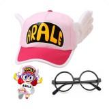 Jual Niceeshop Dr Slump Indah Arale Cap Dengan Angel Wings Hat Untuk Cosplay Costume Party Props Ukuran Dewasa Hitam Frame Kacamata Cap Intl Lengkap