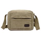 Harga Niceeshop Canvas Vintage Tas Sekolah Pria Utusan Shoulder Bags Hijau Tentara Internasional Baru