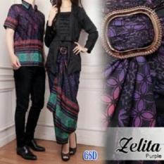 Nicer Couple Batik Kutu Terbaru Cp Zelita Purple Ncr Diskon