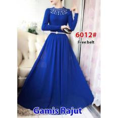 Nicer-Gamis Rajut Impor 6012 Blue