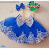 Nicer Minidress Imut Anak Cewe Dress Kid Brukat Benhur Asli