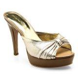 Jual Beli Nicholas Edison Glamour Sepatu Heels Light Gold Indonesia