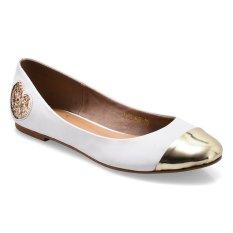 Harga Nicholas Edison Glitter Flat Shoes Putih Terbaru