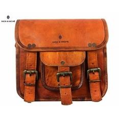 NICK & NICHE Black Friday Deal Handmade Vintage Style Tas Kulit Asli Sling Bag untuk Wanita 9 Inches- INTL