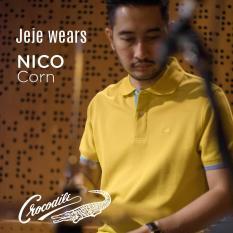 NICO Corn - Baju Pria Crocodile Men Polo Shirt - Bahan Katun 100% Cotton - KHUSUS PENJUALAN ONLINE