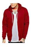Jual Nifty Sweater Pria Zipper Maroon Online Di Jawa Barat