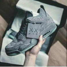 Nike Air Jordan 4 Retro X Kaws  Cool Grey  Premium Original - 8Vfq7x