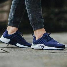 Nike Air Presto  Navy White  Premium Original ( Sepatu Running Cowok - Adeymv