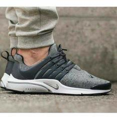 Nike Air Presto  Wolf Grey  Premium Original ( Sepatu Running Cowok - Uiqgte